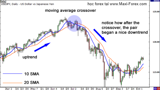 Ma crossover strategy forex