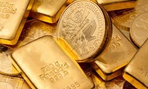 Giá vàng giảm khi USD đi lên làm giảm nhu cầu vật chất