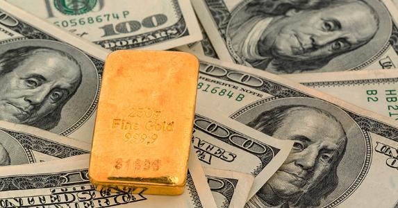 gold bar dollar